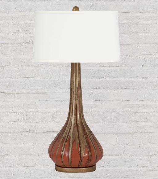 Alia Lamp With Cream Shade