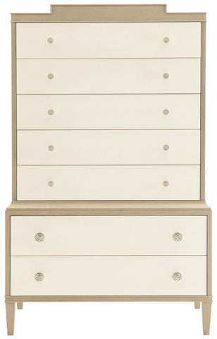 Chest On Chest Finish Chanterelle Ivory Accents