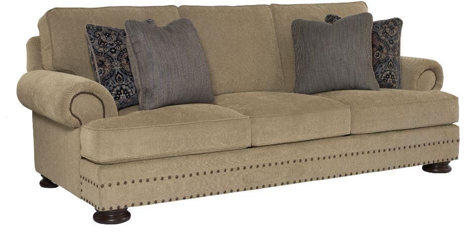 Foster Sofa In 1213Cs7 Married Cover Finish Mocha Nail Trim 44