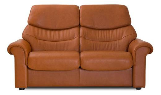Liberty Highback Loveseat In Paloma Chocolate