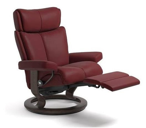 Magic Large Chair Classic With Leg Comfort Paloma Rock, Wenge Finish