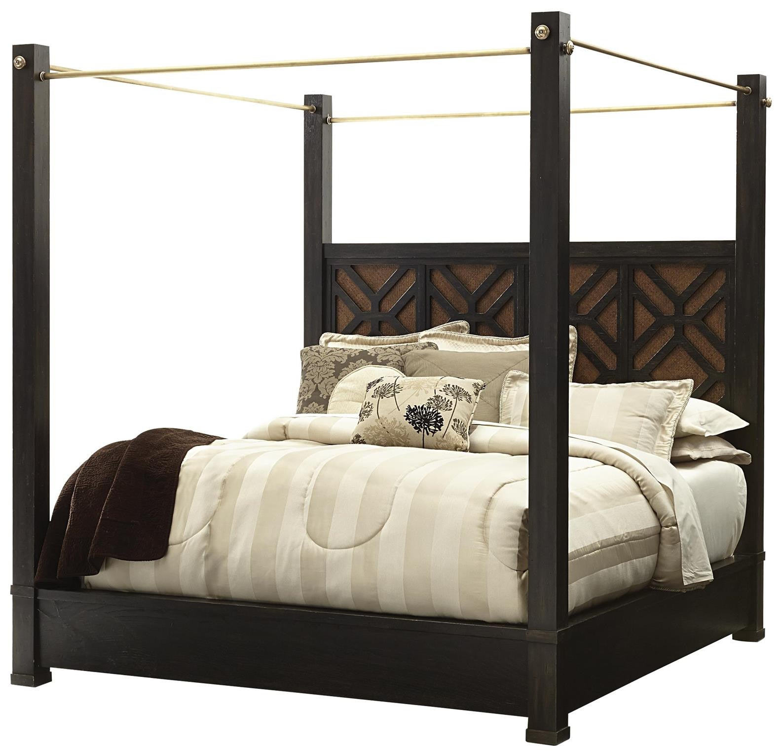 Leslie S King Metal Bed Side Rails Support System And Canopy Rails  sc 1 st  Willis Furniture : canopy rails - memphite.com