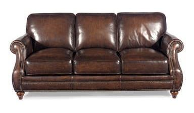 Craftmaster - Sofa Leather Paramour Gr 8 – Willis Furniture