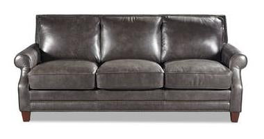 Sofa Leather Prescott Gr 41