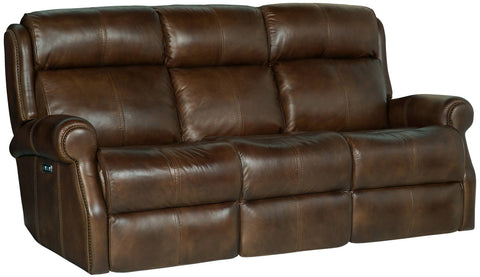 Mcgwire Motion Sofa Mc Leather 305-020 #44 Antique Nailheads