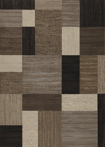2X3.7 Everset Rug 6303 Color 4343 Brown/Multi