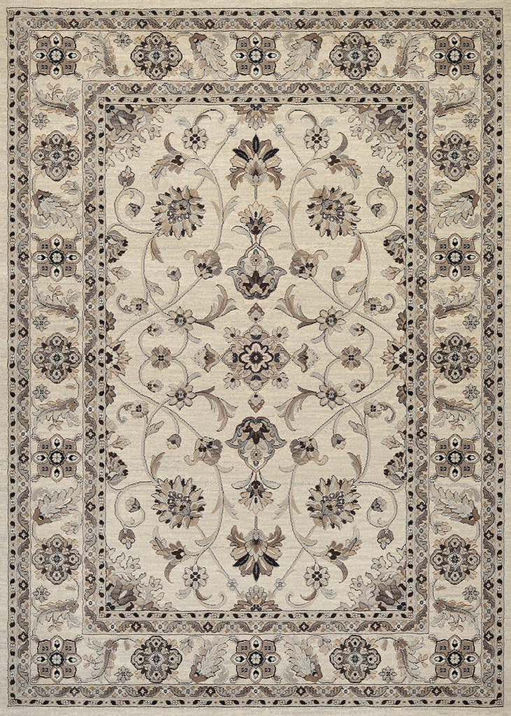 2X3.7 Rug Everset 8972 Color 6322 Rosetta Ivory
