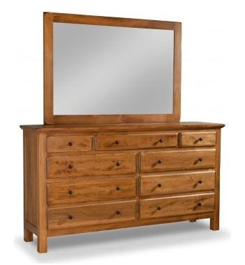 Lewiston Dresser Finish 108 Sandelwood Solid Distressed Maple