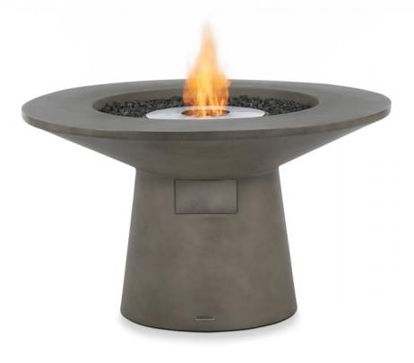 Mesa In Natural Featuring Ecosmart Fire Ng/Lp With Operating Accessories And Lava Rocks