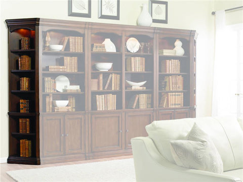 Hooker Furniture Home Office Cherry Creek Wall End Unit L/R