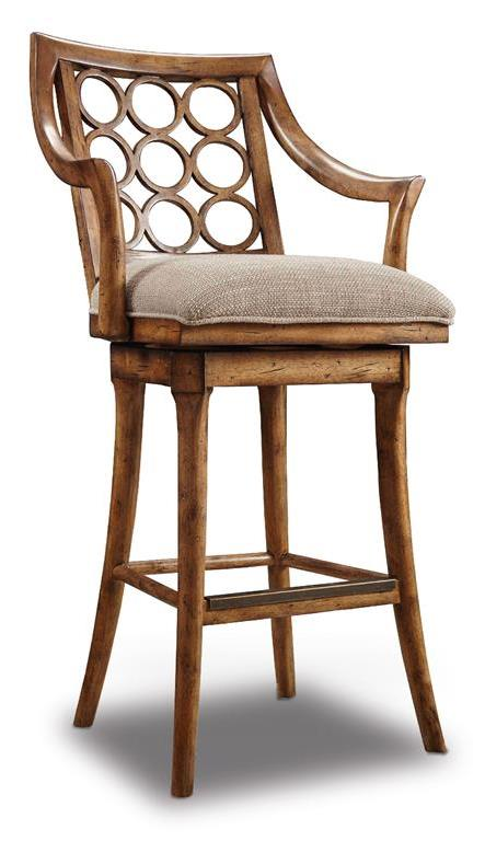 Hooker Furniture Dining Room Graphic   Barstool