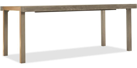 78 Inch Rectangle Dining Table With 2-18 Inch Leaves