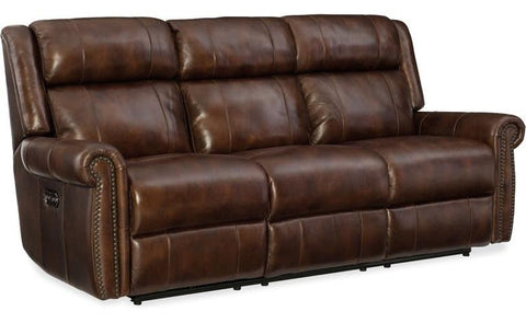 Power Motion Sofa W/Pwr Headrest