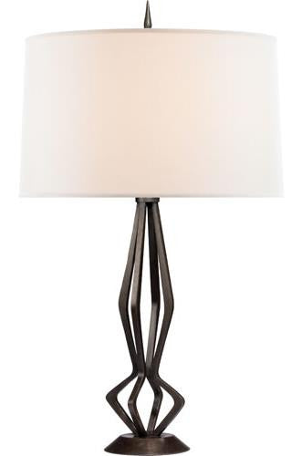 Aged Iron Selene Table Lamp