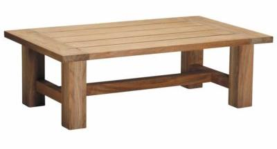 Croquet Teak Coffee Table Natural Teak Finish