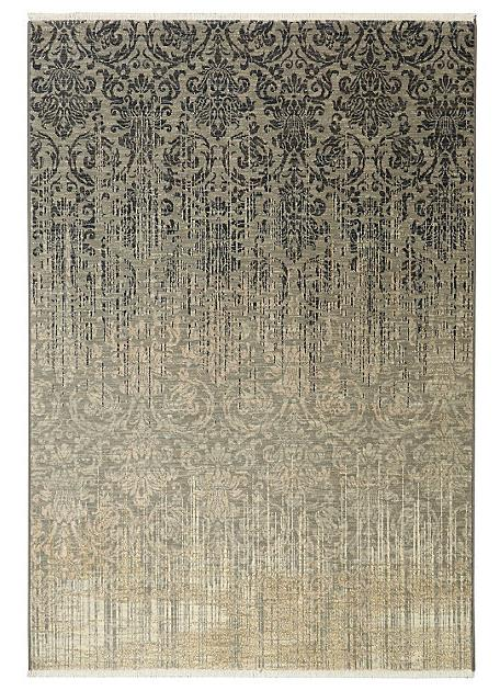 8X11 Titanium New Zealand Wool Rug 39400 Color 16009 Tiberio Gray