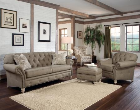 Sofa In 394301 With Ctps In 391511 Grd 38 Shagbark Finish