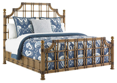 St Kitts Rattan King Bed