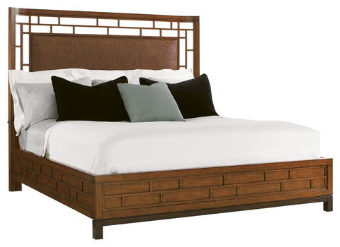 Queen Paradise Point Bed In Bali Finish