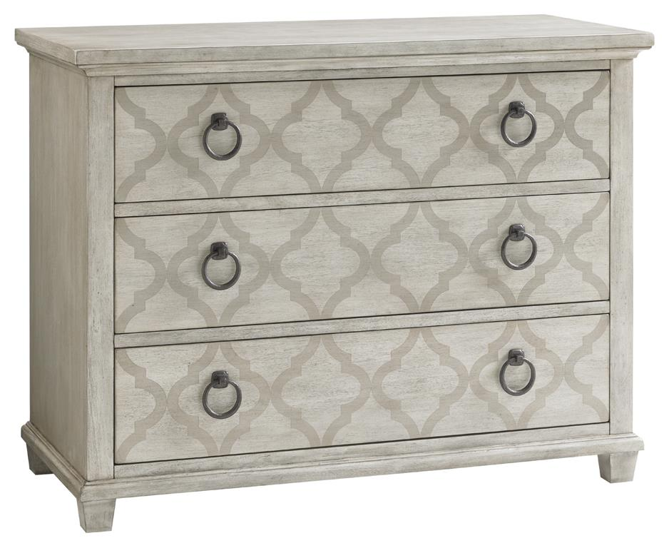 Brookhaven Hall Chest Silk Screen Oyster Finish