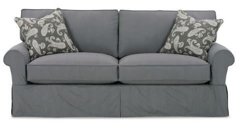 Demi Grace Sofa Fabric Q1530-19 2 Standard 20 Inch Tps Susan Cushion-M850 Standard Finish