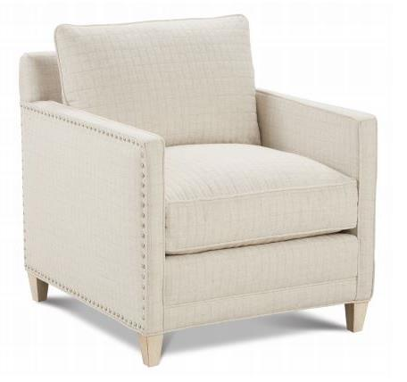 Accent Chairs Jude-T-006 2 Fabrics Bal Body Fabric 27610-28 Gr CC Sb Seat Back Fabric 15246-16 Coral Gr Q Nailhead Pewter Finish Latte