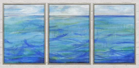 Blue - Set Of 3