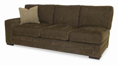 Cornerstone Raf Sofa Wide Track Arm High Loose Box Back Upholstered Base With Border Springdown Seat Duraloft Back Edge Saddle Stitch Fabric 71551L12 Gr A 1 22X22 Ctp In 71550L52 And 1 22X22 Ctp In 90150L55