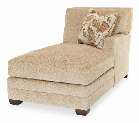 Cornerstone Laf Chaise Wide Track Arm High Loose Box Back Upholstered Base With Border Springdown Seat Duraloft Back Edge Saddle Stitch Fabric 71551L12 Gr A