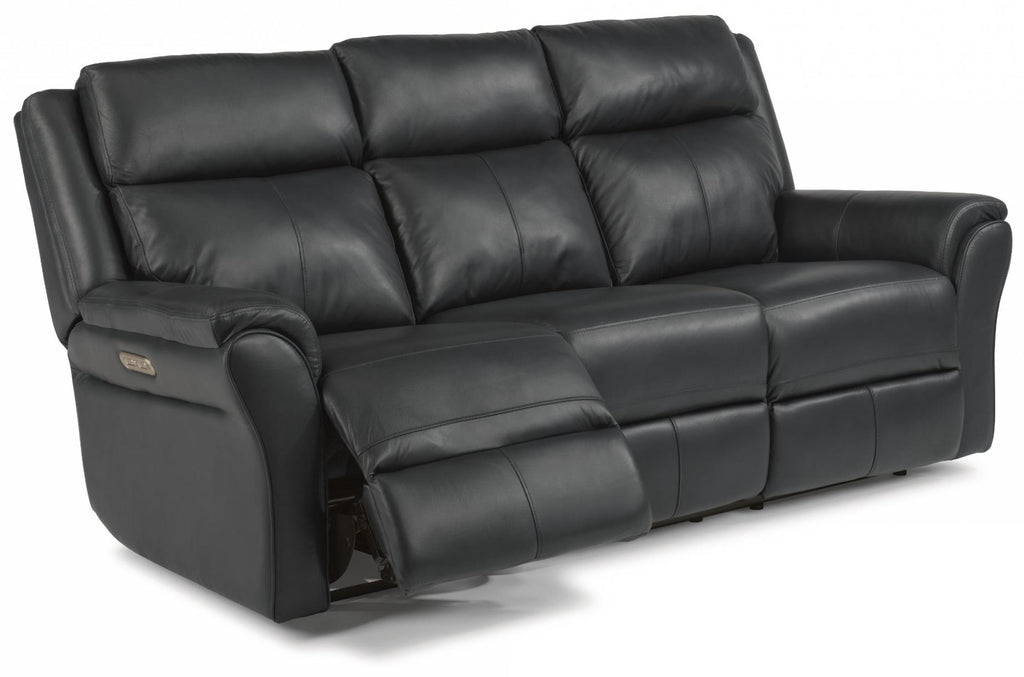 Pike Power Reclining Sofa With Power Headrests Leather 638-42