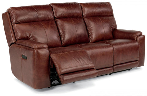 Sienna Power Reclining Sofa With Power Headrest Leather Lm 361-54