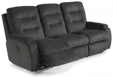 Kerrie Reclining Sofa With Power Fabric 296-40