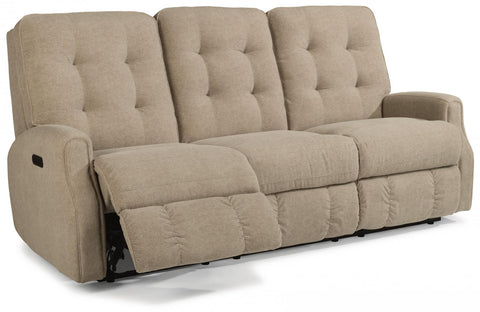 Devon Power Reclining Sofa With Power Headrest Leather 226-80