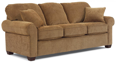 Thornton Queen Sleeper Sofa With Memory Foam Mattress Fabric 137-11 Ctps In 196-40
