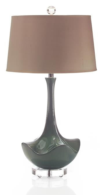 "29"" Ocean Waves Table Lamp"