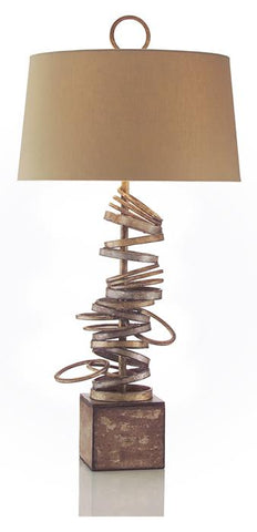 "36.5"" Stacked Table Lamp"