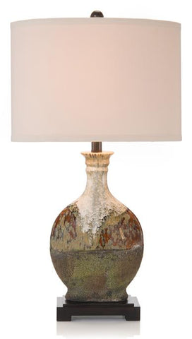 Earthy Craft Table Lamp