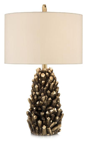 Golden Crystals Accent Table Lamp
