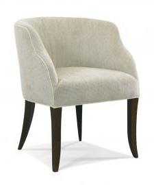 Chair In Healdton Taupe 27 Brown Mahg Finish
