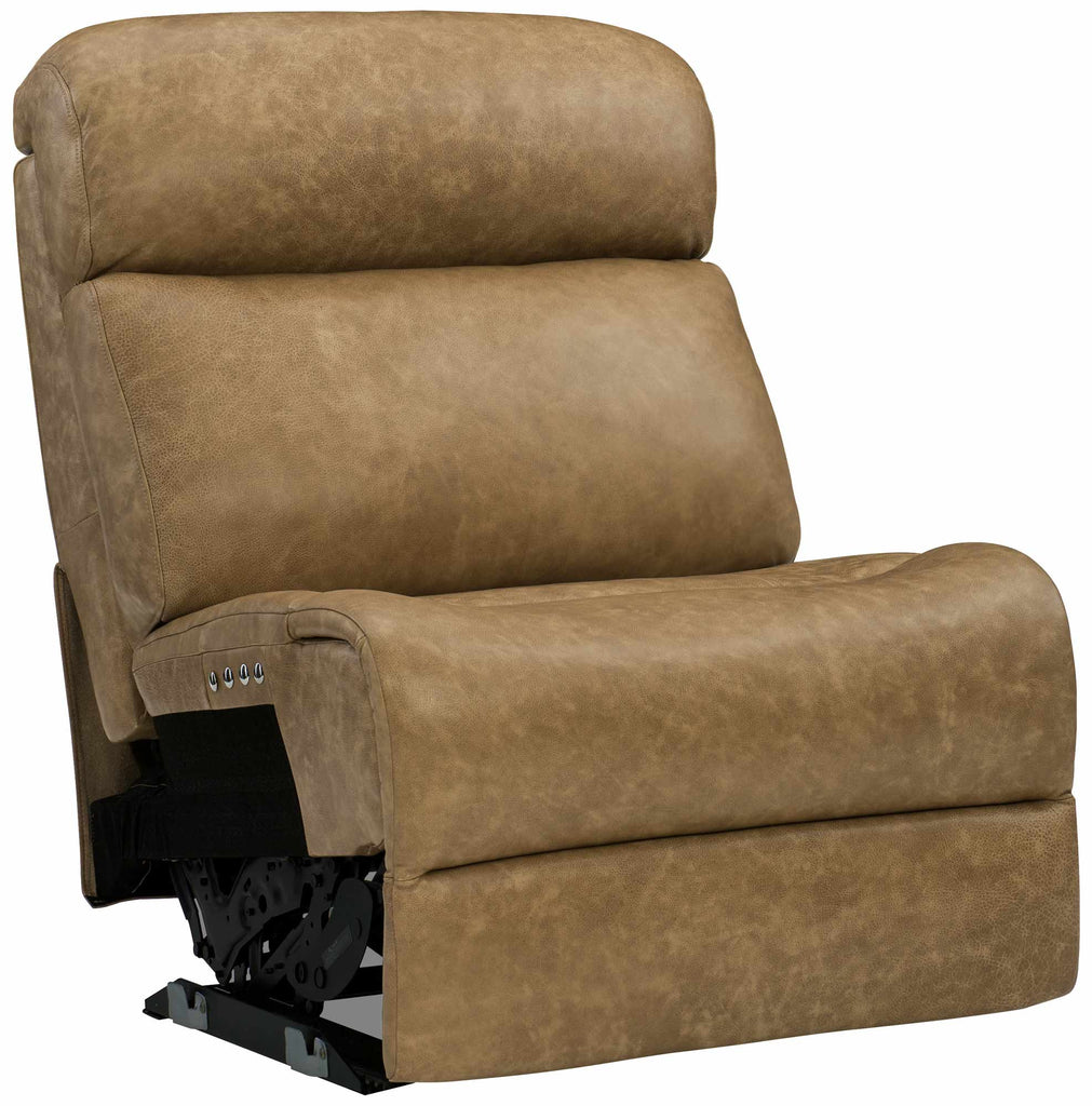 Evan Armless Power Motion Chair Mc Leather 311-222