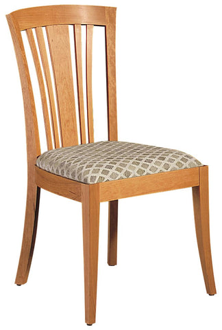 Metro Side Chair In 8371-25 Grd H., Mocha Finish #018