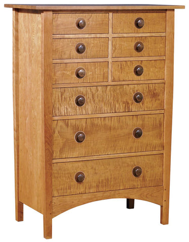 Harvey Ellis Nine Drawer Chest
