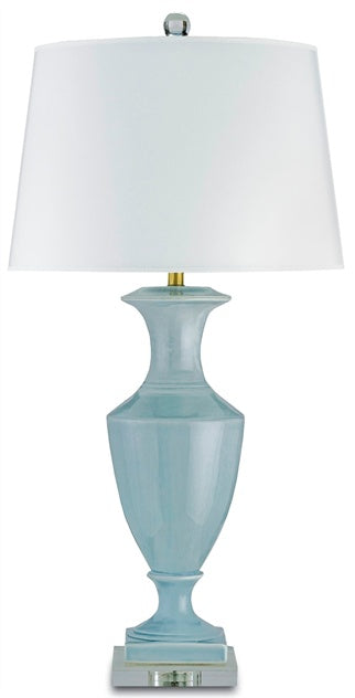 Timeless Table Lamp, Blue