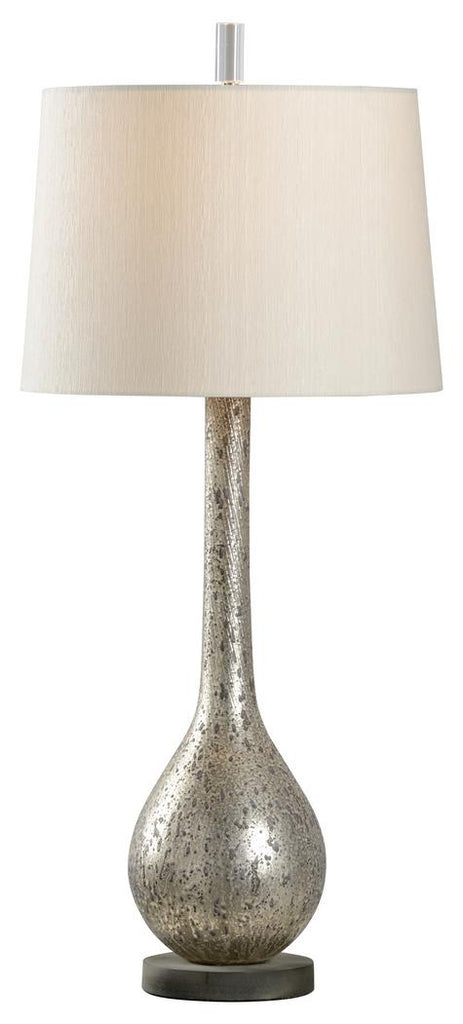 Dane Lamp Textured Grey Glass,Charcoal Matte Finish On Composite