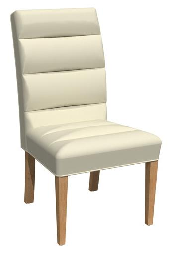 Dining Chair Fabric F275 Finish 602 Chamois Sepia