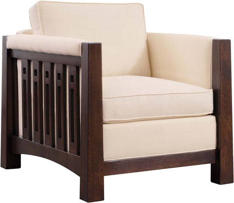Highlands Chair, Finish 032 Onondaga, Fabric 5311-25 Grade F