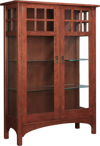 2017 Collector Edition Cabinet Finish 011 Madison Glass Door With Lights