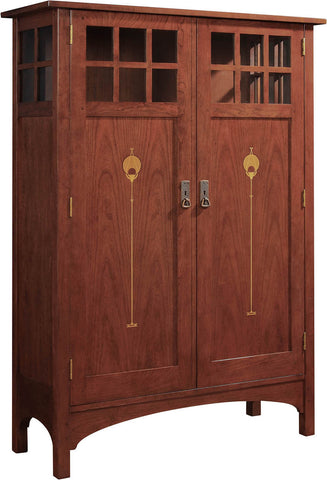 2017 Collector Edition Cabinet Finish 011 Madison Inlaid Wood Door