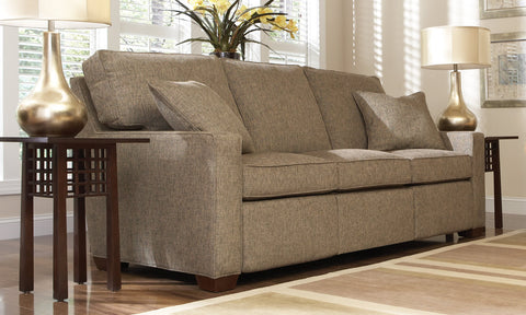 400 Selectional Motion Sofa Cl-8812P-Lr-1F-2A-3F In Cody Rock Grd 3 Dark Maple Finish Springdown Seat Fiber Down Back