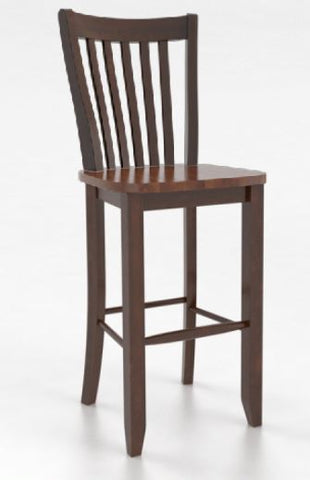 Fixed Bar Stool Seat Color 28 Amaretto Washed Body Color 23 Chestnut Washed Finish Matte Seat Height 30 Inches
